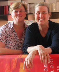 Verlag Krug & Schadenberg: Die beiden Verlegerinnen Dagmar Schadenberg (rechts) und Andrea Krug (links)