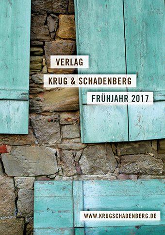 Cover - Programmvorschau Frühjahr 2017