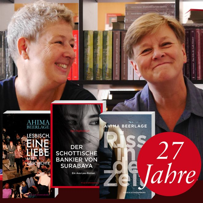 Die Verlegerinnen: Dagmar Schadenberg (links) und Andrea Krug (rechts)
